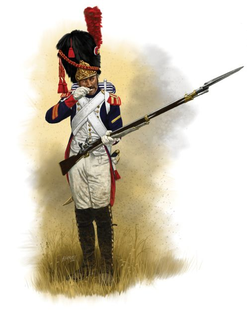 """The Old Guard (French Vieille Garde) were the elite veteran elements of the Emperor Napoleon's Imperial Guard. As such it was the most prestigious formation in Napoleon's Grande Armée. French soldiers often referred to Napoleon's Imperial Guard as """"the Immortals."""" The Old Guard was formed of veteran soldiers who had served Napoleon since his earliest campaigns."""