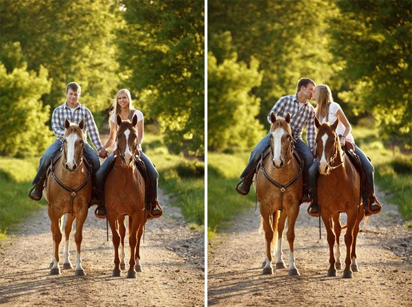 Equine Engagement <3 umm yess!!! only with Moose and Mary!