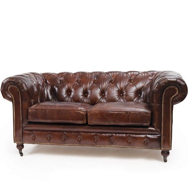 High Quality Chesterfield Sofa Vintage Leather