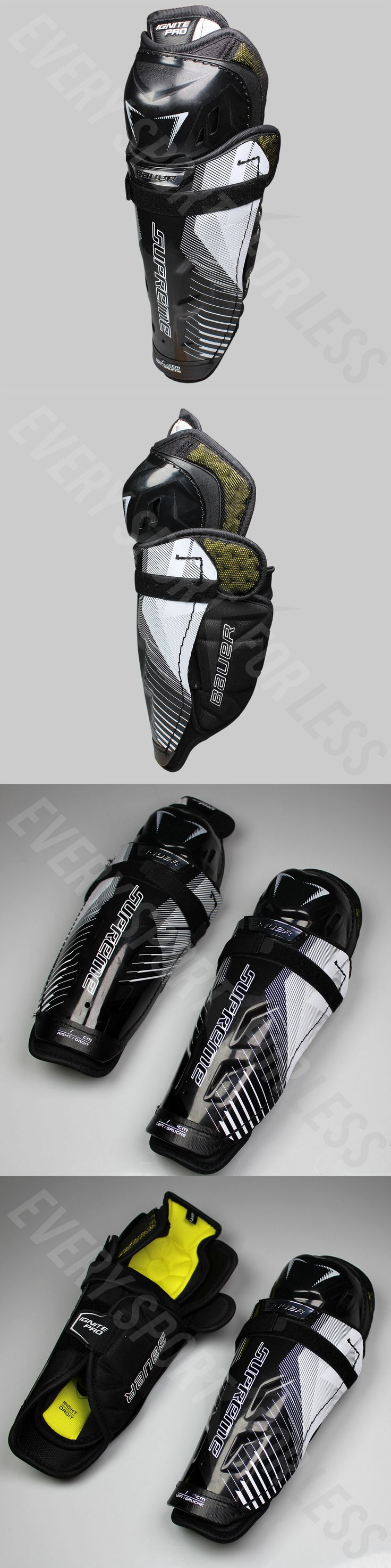 Pads and Guards 20856: Bauer Supreme Ignite Pro Hockey Jr Shin Guards - Special Make Up (New)Lists@ $90 -> BUY IT NOW ONLY: $79.99 on eBay!