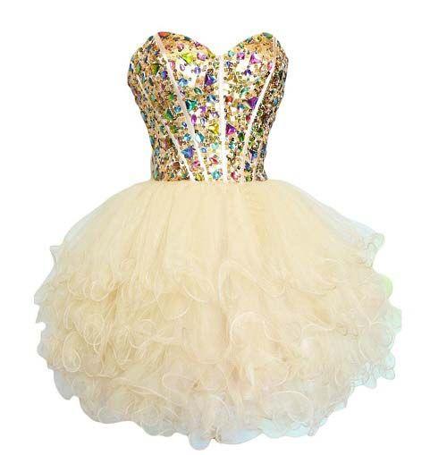 tutu prom dress