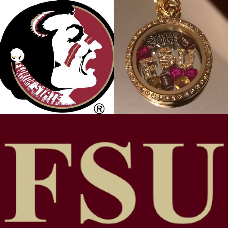 Florida State University FOOTBALL FAN! Wear your FSU team spirit in an Origami Owl Locket! Contact me for more information, or how you can earn this FREE!  https://kristaamoyer.origamiowl.com