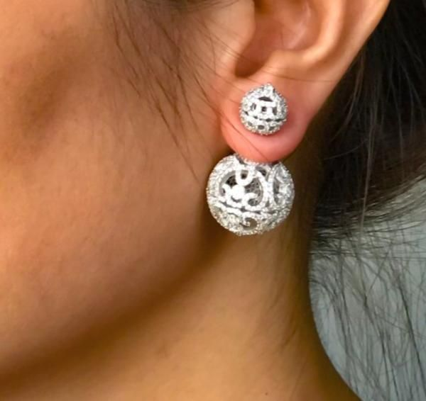 Shop Body Kandy Couture | Pave Ball Studs