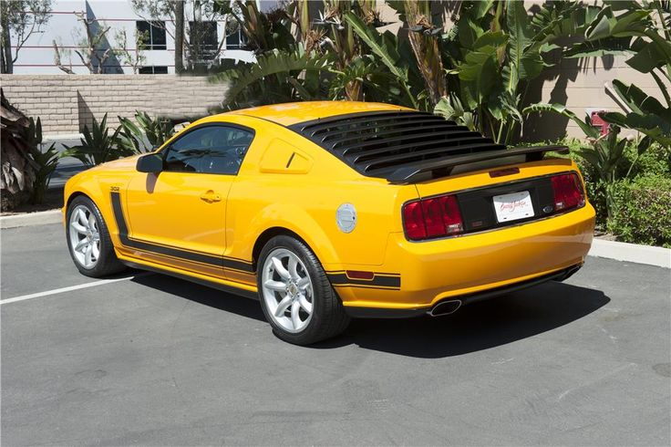 2007 FORD MUSTANG SALEEN PARNELLI JONES LIMITED EDITION - Rear 3/4 - 185585