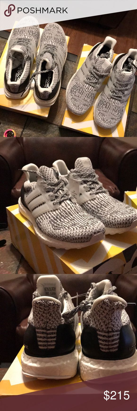 Size 10.5 Oreo adidas Ultra Boost 3.0 Adidas Size 10.5 Oreo UltraBoost 3.0 Brand new adidas Shoes Sneakers