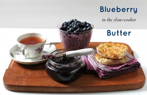 Slow-Cooker Blueberry-Plum Butter Recipe