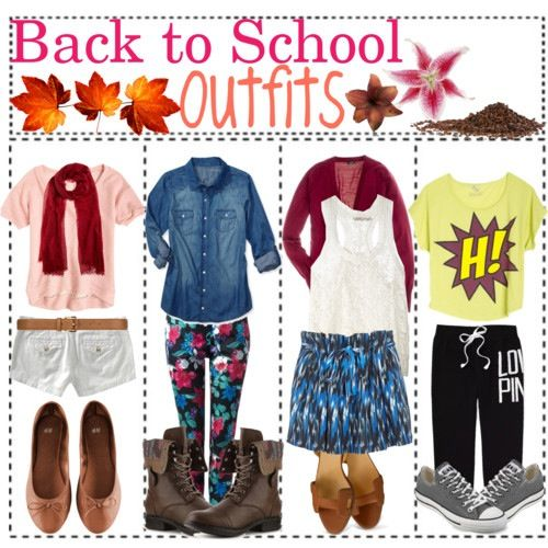 20 best Back to school outfits, hair, make up images on Pinterest ...