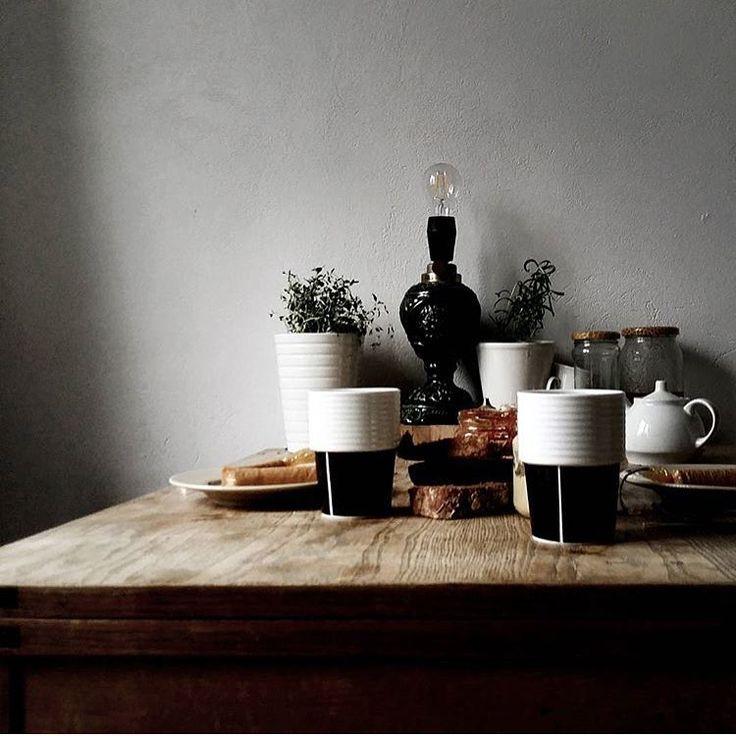 Morning light and Filippa K ceramics through the lens of @sklepfreedom