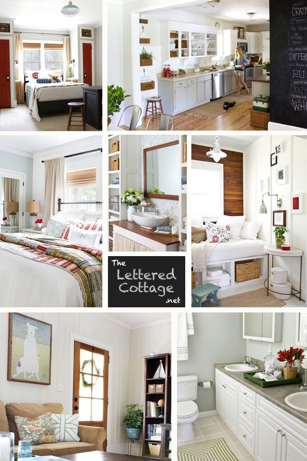 The Lettered Cottage   Creative Decorating   Pinterest