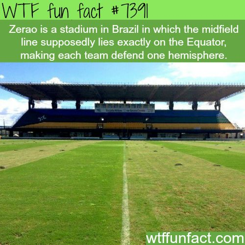 Zerao stadium - WTF fun facts