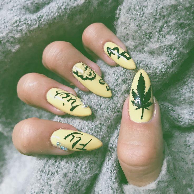 Ganja nails 420