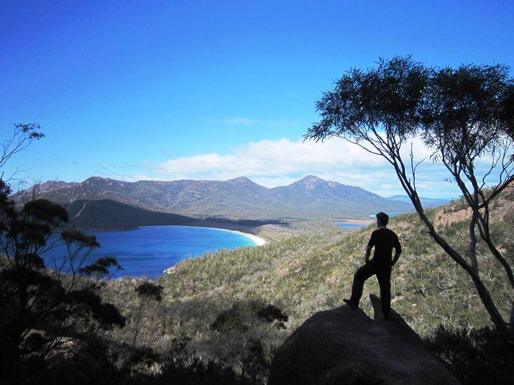Wineglass Bay, Tasmania   #whataview!