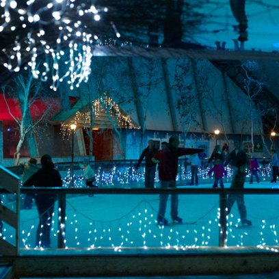 Outdoor Ice Rinks in the UK | Christmas Ice Skating | Red Online
