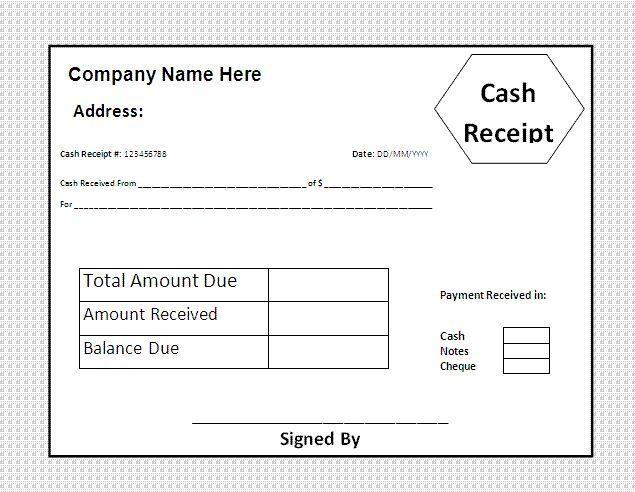 25+ ideias exclusivas de Free receipt template no Pinterest - cash bill template