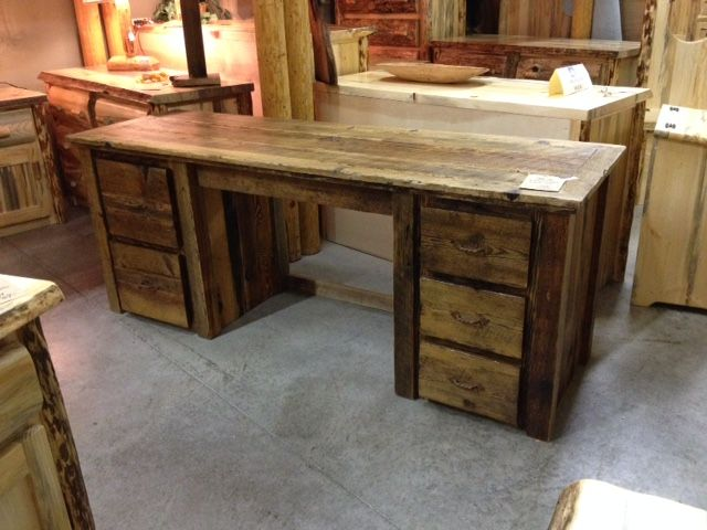 16 best Rustic fice Furnishings images on Pinterest