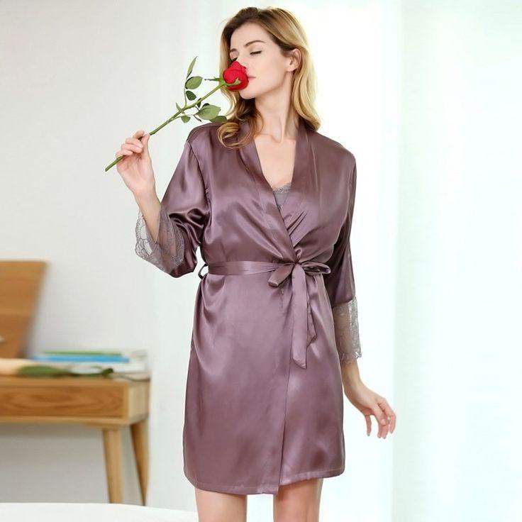 363 best peignoir robe de chambre femme images on pinterest. Black Bedroom Furniture Sets. Home Design Ideas