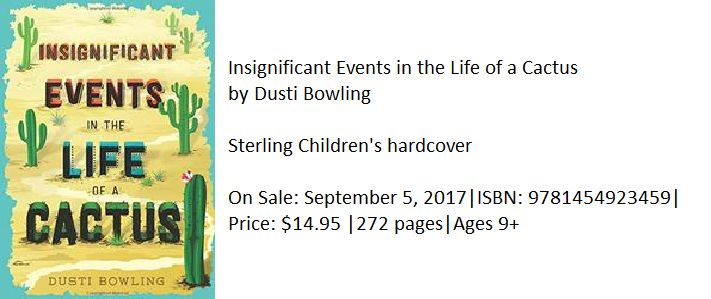 Review for Insignificant Events in the Life of a Cactus (middle grades)