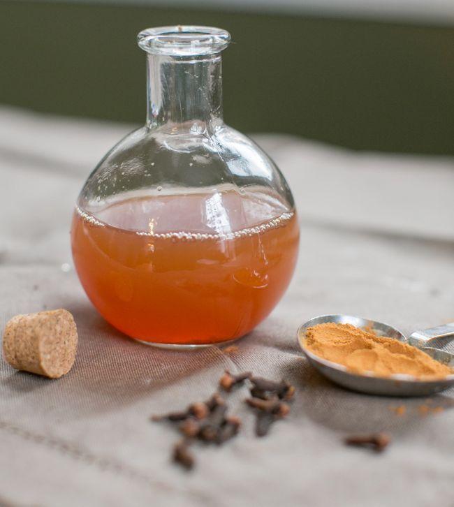 Natural Mint Clove Mouthwash | Henry Happened