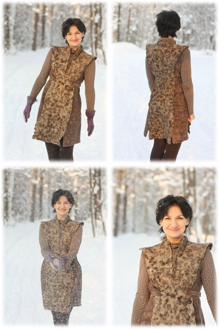 Master class: Valya tunic in eco-style - Fair Masters - handmade, handmade