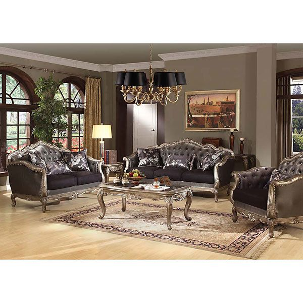 Chantilly Sofa Set 3 Fine FurnitureLiving Room FurnitureSofa SetAuction