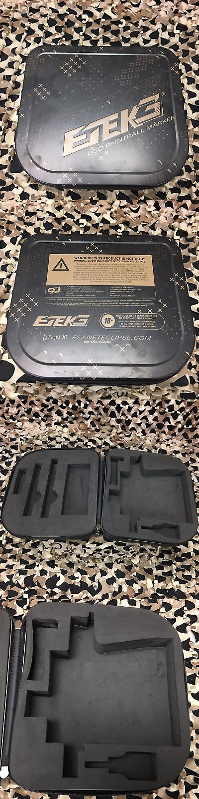 Other Paintball 10554: New Planet Eclipse Etek3 Paintball Gun Marker Case - Black -> BUY IT NOW ONLY: $40.95 on eBay!