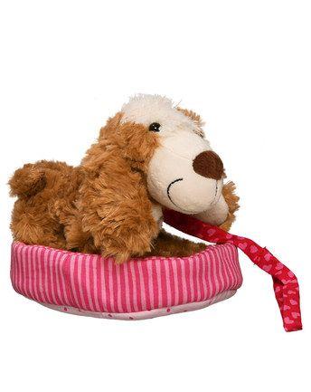 Koffer mit Hund HERZEN in pink/rot von Sigikid ✔ Kompetenter Service ✔ Gleich bei tausendkind bestellen!