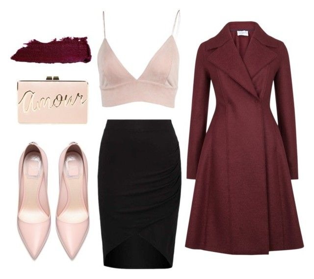 """Untitled #13"" by gurpreet3886 on Polyvore featuring Harris Wharf London and BCBGMAXAZRIA"