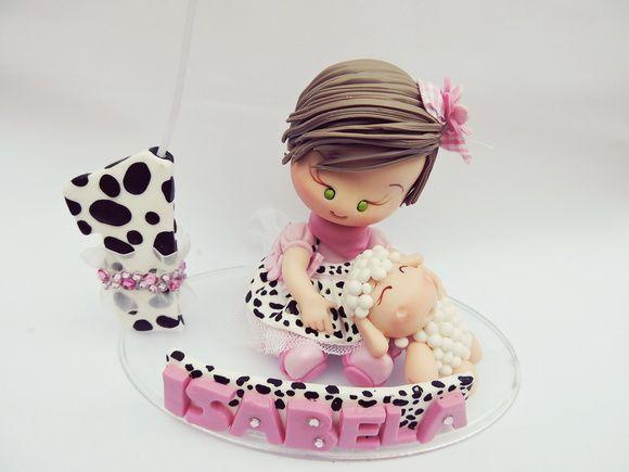 topo de bolo fazendinha rosa 1