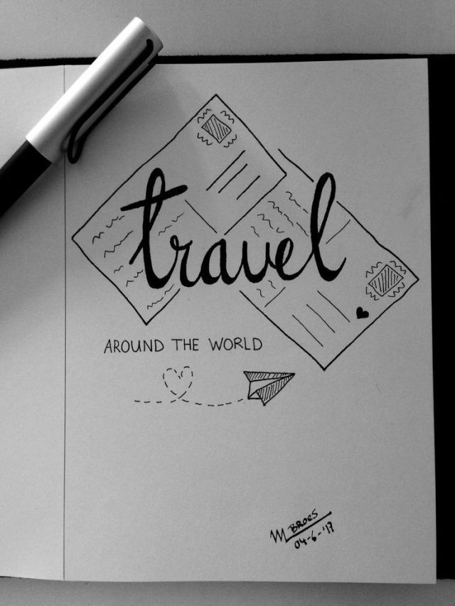 #Travel #AutoNetworkTravel #TravelNotebook # Calendario de viaje # Libro de viaje,