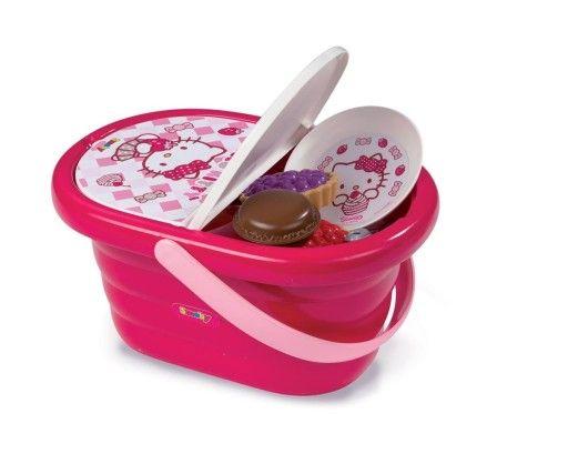 SMOBY 24084 Koszyk piknikowy Hello Kitty