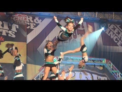 Cheer Extreme Battle at the Beach Youth Elite 2013