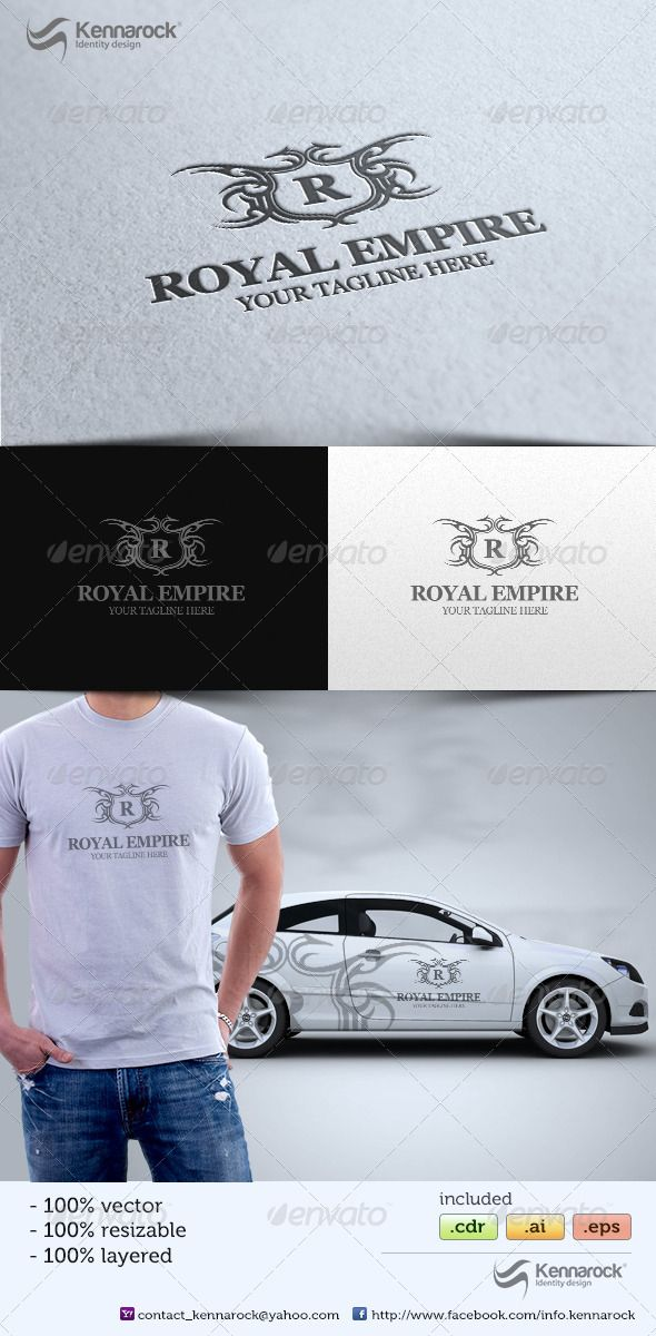 Royal Empire V1 Logo Template
