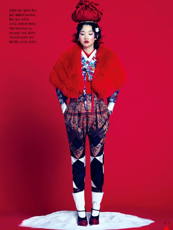 Vogue Korea: Snow Plum | So gorgeous, I want to frame this and hang it on my wall!