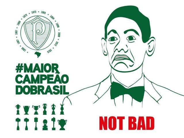 Palmeiras ironiza Ricardo Oliveira em rede social