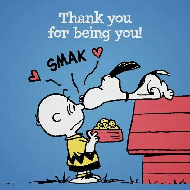 Thank you Snoopy!