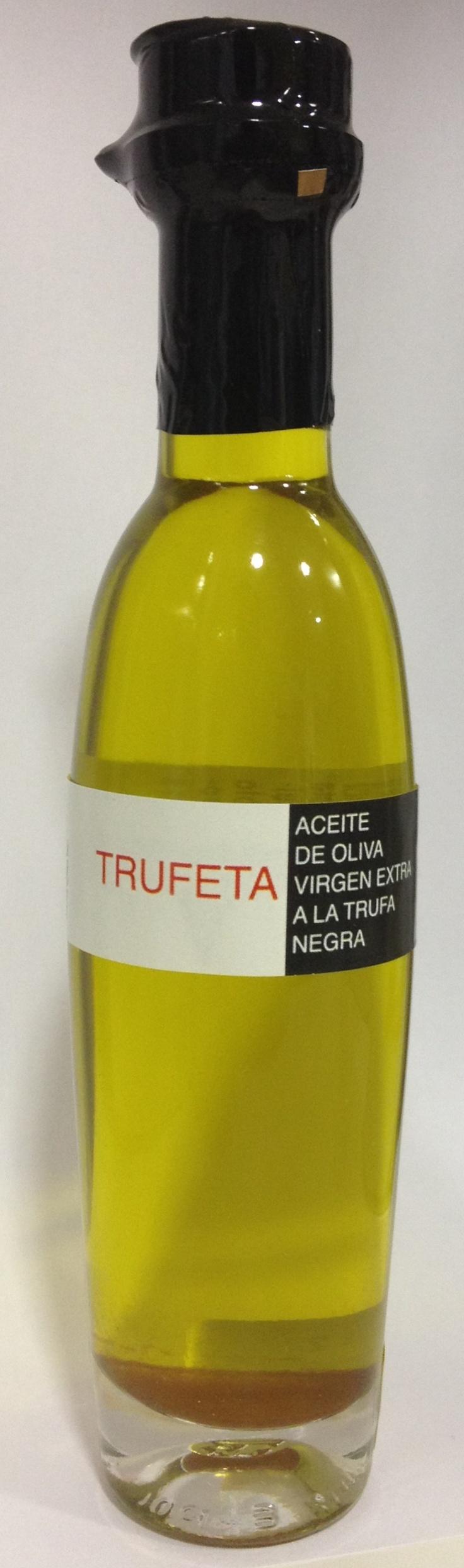 Aceite de oliva virgen extra ecostean con trufa negra de Graus (Huesca)! Condimentado ESPECIAL l!