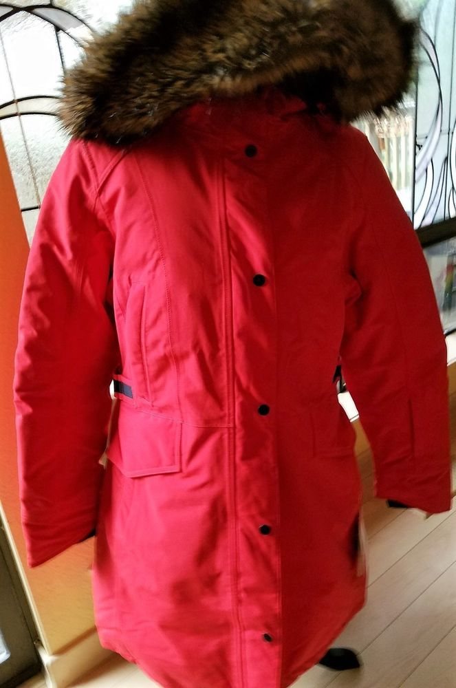 Brand New w Tags NORTH FACE Tremaya Women s Parka Jacket Coat High Risk Red  XL  fashion  clothing  shoes  accessories  womensclothing   coatsjacketsvests ... aeb28b5d2