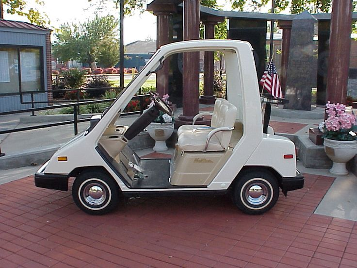 ACTIVE 1986 Yamaha SUN CLASSIC Model G-3 Gas Golf Car ...