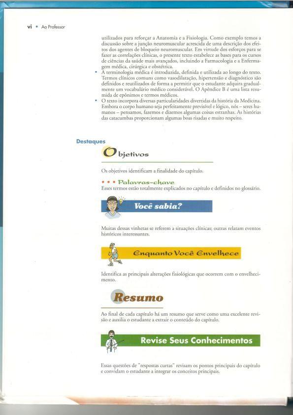 Anatomia e fisiologia parte I - Livro em PDF de Anatomia e Fisiologia da Barbara...
