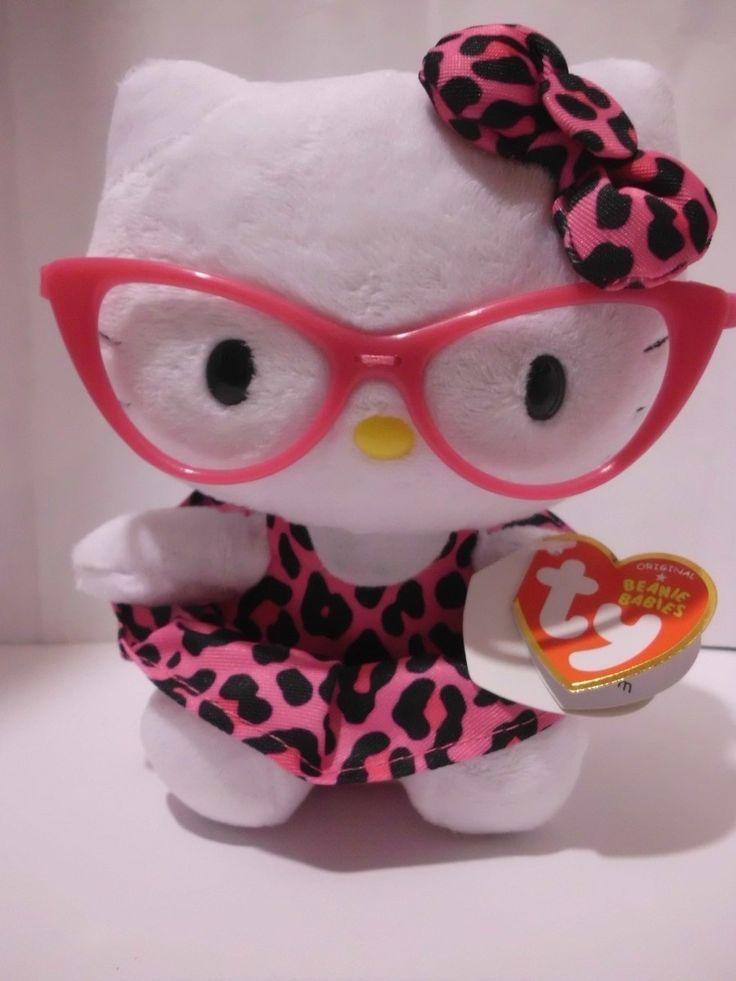 Hello Kitty Nerd   hello kitty nerd muñeca-peluche