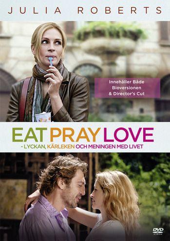 Eat Pray Love - Lyckan, kärleken och meningen med livet - Drama från 2010 av Ryan Murphy med Julia Roberts och Tuva Novotny.