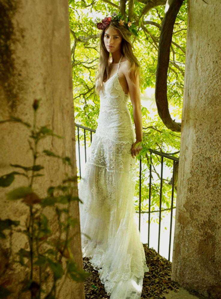 YolanCris | Ibiza style & hippie chic wedding dresses