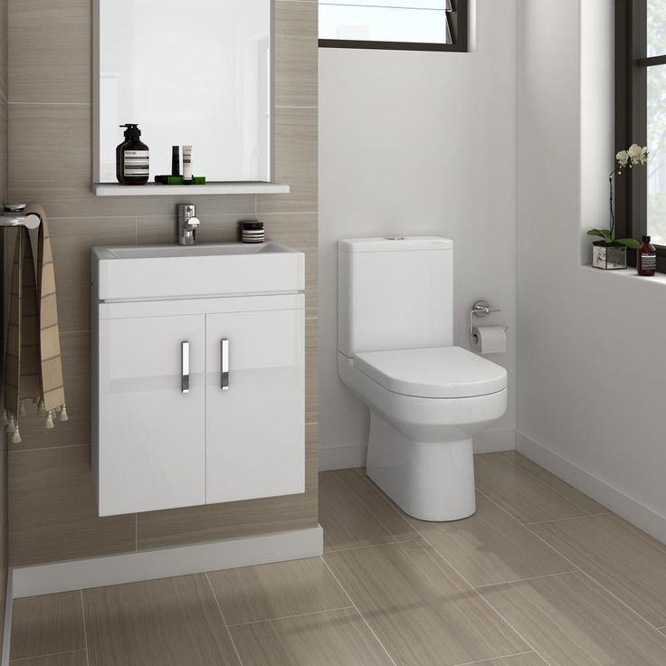 Nova Cloakroom Suite Wall Hung Basin