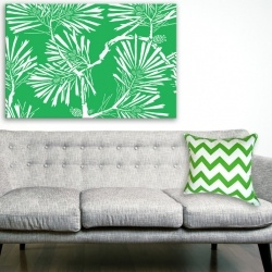 Canvas Print - Fronds 60x90cm -