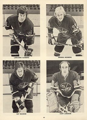 The addition of these four saved the Jets franchise, rejuvenated Bobby Hull and took the WHA to a much higher level.