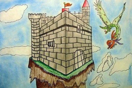 Castles in 2-Point Perspective