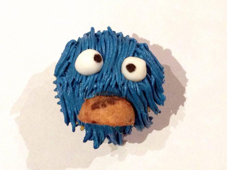 Mini Cupcake monstruo de las galletas
