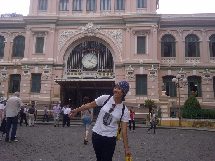 Central Post Office - Ho Chi Minh City Vietnam