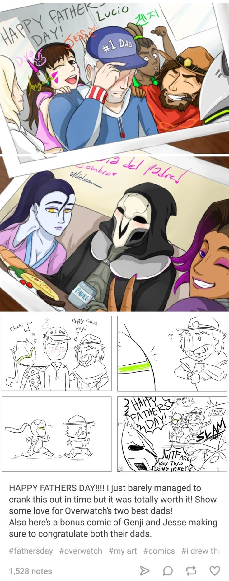 This is cute because blackwatch and regular overwatch