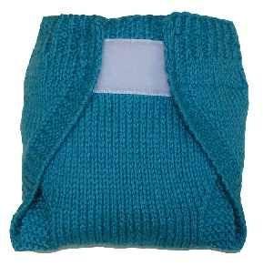 wool soaker with Aplix (free pattern)